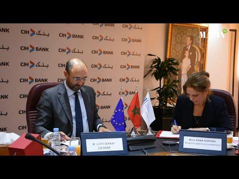 Video : CIH Bank et la BEI signent leur premier accord de financement