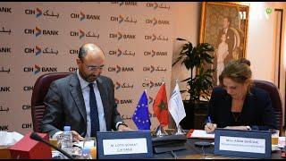 CIH Bank et la BEI signent leur premier accord de financement