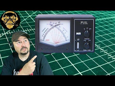 MFJ-892 SWR and Watt Meter - Ham Radio - TheSmokinApe