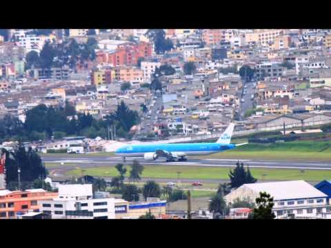 KLM 777200/300 ER en Ecuador