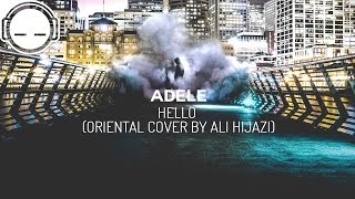 Adele - Hello (Oriental Cover by Ali Hijazi) Arabic lute version