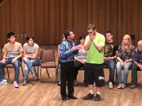 Hypnotist makes regular task impossible
