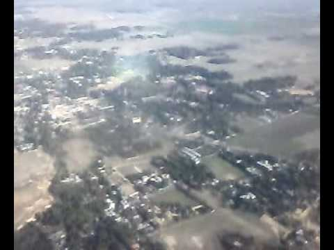 FLYING OVER SYLHET