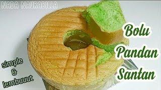 Resep Bolu Pandan Santan yang enak & super lembut // Bolu Panggang telur 4