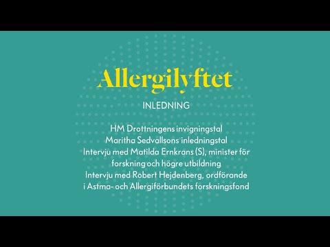 Allergilyftet, konferensens inledning
