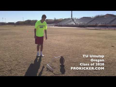 T U  Umulap, Prokicker.com Kicker Punter, Class of 2020