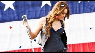 Miley Cyrus - Party in the USA - Official Music Video with Lyrics on Screen