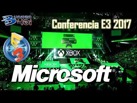 Conferencia Microsoft E3 2017 : Microsoft Streaming comentado en directo   Xbox Scorpio   Retro