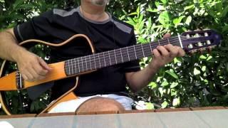 """Güllerin içinden """" Fingerstyle Guitar Solo """" Cover"""