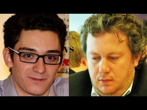 Amazing Chess Game:  Fabiano Caruana vs Arkadij Naiditsch : GRENKE Classic (2018): Berlin Defence