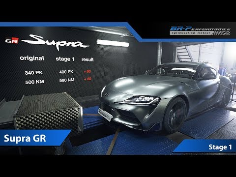 Toyota Supra GR Launch Edition 3.0 Bi-Turbo Stage 1 By BR-Performance