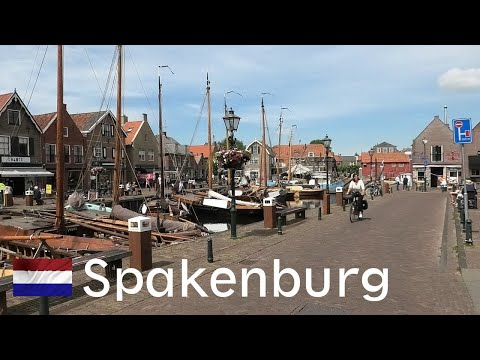 Spakenburg village, old fishing port (Utrecht-Netherlands)