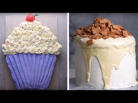 Use These Sweet Treats to Make Yummy Desserts! | Making Cakes from Breakfast and Treats by So Yummy