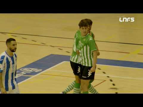 CD Leganés 2-3 Real Betis Futsal B Jornada 6 Segunda División Temp 21/22