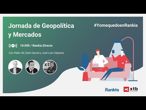 Jornada acerca de la geopolítica ante las actuales crisis del coronavirus y el petróleo. Varios analistas de XTB y un invitado especial impartirán conferencias acerca de su visión de los mercados, economía y petróleo.