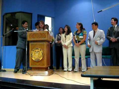 Congreso ESPE 2009, 08′ Discurso Byron