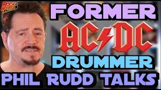 Phil Rudd Talks About His Old AC/DC Bandmates and His New Solo Tour