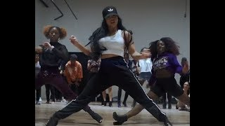Pardison Fontaine ft Cardi B - Backin' It Up (Choreography Aliya Janell) stiletto heels