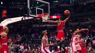 Derrick Rose's Most Vicious Dunks (Pre-Injury)