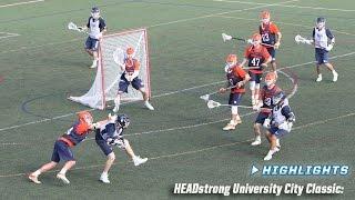 Fallball Highlights: Syracuse vs. Penn • HEADstrong University City Classic