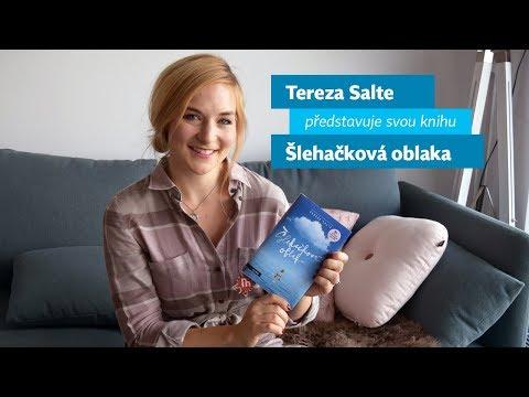 Tereza Salte představuje svou knihu Šlehačková oblaka