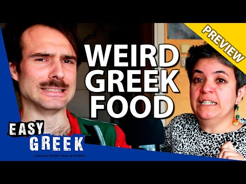 Weird Greek food that you've never heard about before! (PREVIEW) | Easy Greek 64 photo