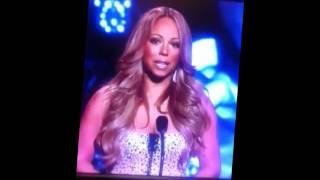 Mariah Carey Breaks down in An emotional Tribute to Whitney Houston. ♥♥♥