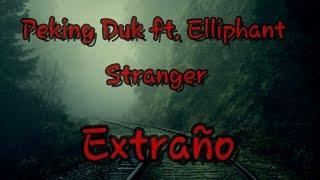 Peking Duk - Stranger ft. Elliphant  SUBTITULADO AL ESPAÑOL (Official Music Video)