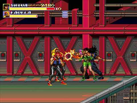 Streets of Rage Remake (Extra Mode: Events) (Bomber Games) (Windows) [2011] [PC Longplay]