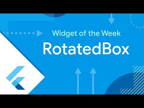 RotatedBox (Widget of the Week)