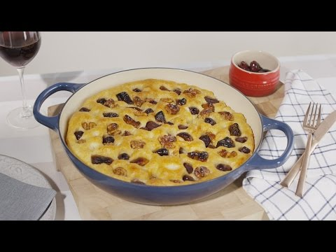 houseoffraser.co.uk & House of Fraser Voucher Code video: How to Make Dried Fig, Olive and Walnut Focaccia | House of Fraser