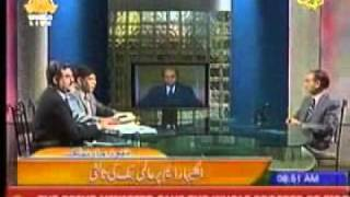 Earthquake during a live transmission on Ptv.flv