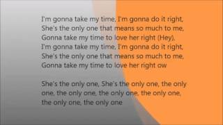 She's the Only One (Remix) Song Lyrics