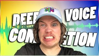 Maxmoefoe Deep Voice Compilation