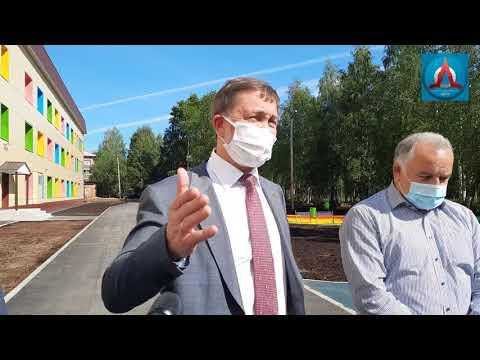 Открытие детской больницы в Ухте