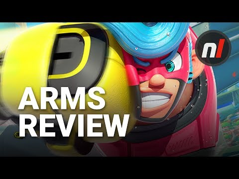 WTFF::: Review: ARMS (Switch)