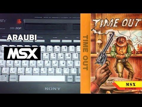 Time Out (New Frontier, 1988) MSX [406] Walkthrough Comentado