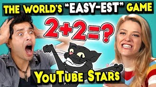 YouTubers FAIL The Easiest Game In The World