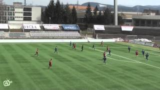 Zostrih gólových situácií zo zápasov U19 a U17 proti Podbrezovej