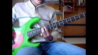 Coldplay-Sparks (Bass Cover)