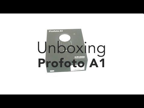 Profoto A1 - Unboxing