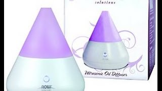 Aromatherapy Diffuser - Review and demonstration of how to use the Now Diffusor