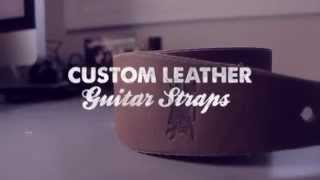 Guitar Straps Create The Right Way - Rusty Knuckles Custom Leather Guitar Strap