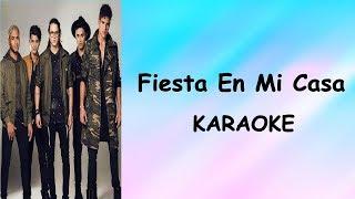 CNCO - Fiesta En Mi Casa - Karaoke - Letra