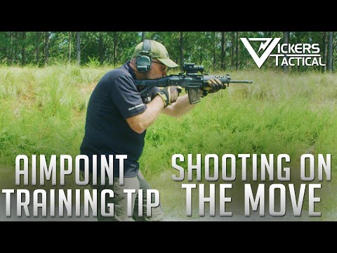 Aimpoint Training Tip - Shooting On The Move