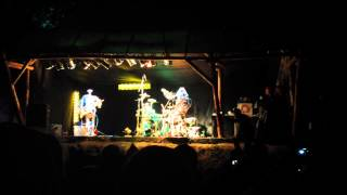 Robots playing TNT from ACDC live @Fusion 2012