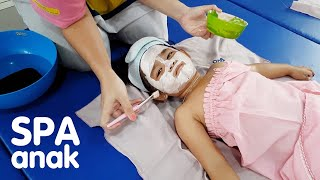 Kak Aruna Pijat Anak & Razqa Pijat Bayi Dan Berenang Di Bunda Esti Fisioterapi Baby Spa Yogyakarta