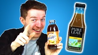 Irish People Taste Test American Iced Tea