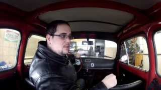 SNOW DRIVING feat. 1970 Fiat 500L
