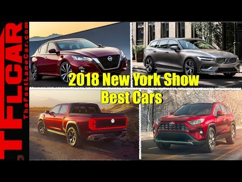 Best New Car Debuts from the 2018 New York Auto Show: Counted Down